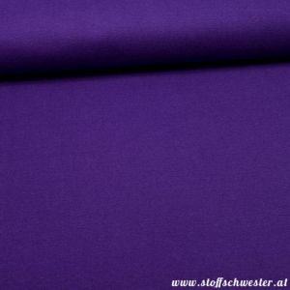 Feinstrickbündchen violett